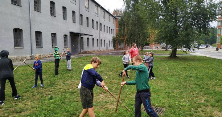 Cvičení pro děti venku od 10.5.2021